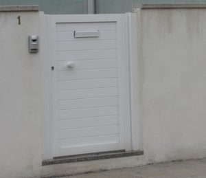 Portal tabla blanco